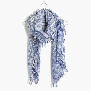 Madewell • Oversize Gridweave Scarf